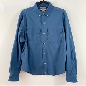 Duluth Trading Co . Button Front L/S Shirt . M